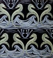 Textile Design: Sea Horses