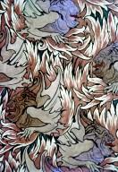 'Demon' Wallpaper or Textile Design