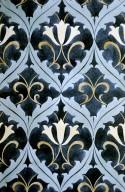 Wallpaper or Textile Design: Floral Motif