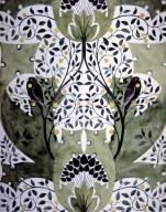 Wallpaper Design: Black Birds