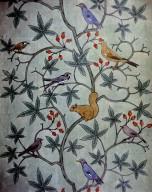 Wallpaper Design: Squirrel and Bird