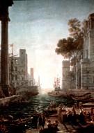 Embarkation of Saint Paula at Ostia