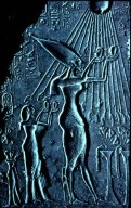 Akhenaten and Aten