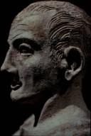 Etruscan Portrait Sculpture