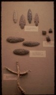 Beads, Spear-points, Hatchet-blades