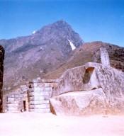Machu Picchu: Sun Dial Monolith