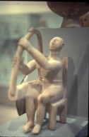 Seated Harp Player