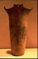 Flared Vessel with Rope Impressions