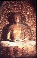 Byodo-in Temple: Phoenix Hall (Hoodo): Amida Buddha