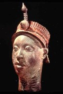Head, Portrait of an Oba with Crown