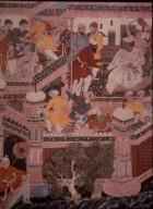 Hamza-nama: Hamza's Spies Scale the Fortress