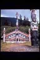 Clan House, Totem Bight State Historic Park