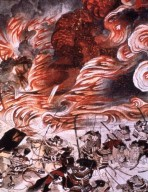 Hejji Monogatari: Burning of Sanjo Palace