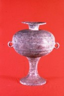 Dou: Food Vessel with Cover, High-Footed
