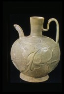 Ewer with Floral Relief