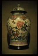 Jar: Flower Motif