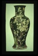 Famille Verte Vase: Plum Tree