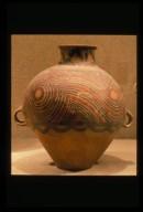 Guan (Jar): Swirled Pattern