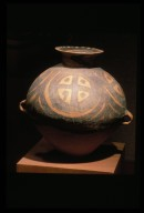 Guan (Jar): Cross and Circle Motif