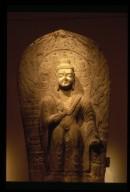 Buddhist Stele: Maitreya Buddha
