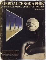 Gebrauchsgraphik (October 1938)