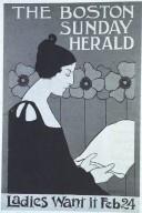 Poster for Boston Sunday Herald