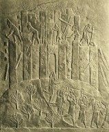 Palace of Ashurbanipal: Sack of City of Hamanu by Ashurbanipal