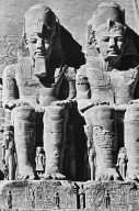 Temple of Ramesses II: Main Entrance with Colossal Figures of Ramses II