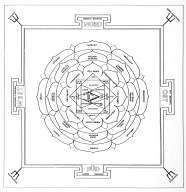 Mandala Diagram of Bhaktapur