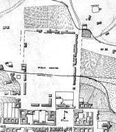 Plan of Santa Fe Courtyards