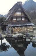 Gassho Style House in Ogimachi Village