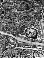 Map of Ancient Rome in the Testaccio Area