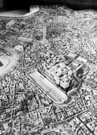 Model of Imperial Rome at the Time of Constantine: the Palatine Hill and Circus Maximus