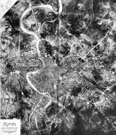 Aerial View of Rome in the 20th Century