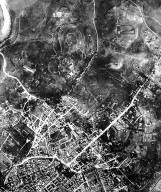 Aerial View of Rome in the 20th Century in the Area of the Castro Pretorio Rione and Salario Quarter