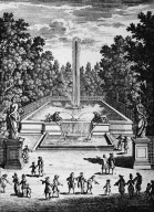 Versailles with La Fontaine du Cabinet de Diane