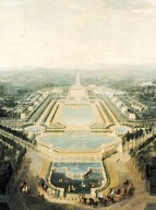 View of the Chateau and Pavilions of Marly