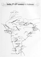 Map of India in the 5th-13th Centuries