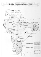 Map of India After 1200