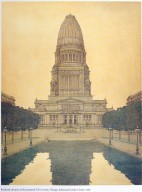 Plan of Chicago: Proposed Civic Center