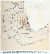 Map of Chicago with Exterior Highways