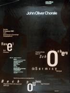 John Oliver Chorale Poster
