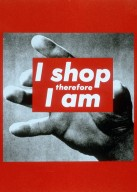 Untitled (I Shop Therefore I Am)