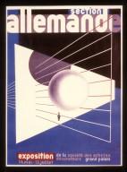 German Werkbund Exhibition Poster