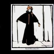 Sarah Bernhardt from Twelve Portraits
