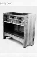 Craftsman Furniture: Serving Table