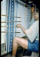 Woman's Cloth Warp Ikat from Nigeria