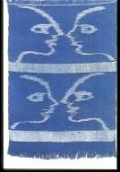 E-gasuri in a Small Weft Ikat