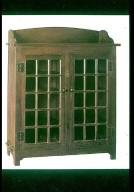 White Quarter-Sawn Oak Bookcase