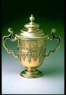 Two Handled Cup and Cover